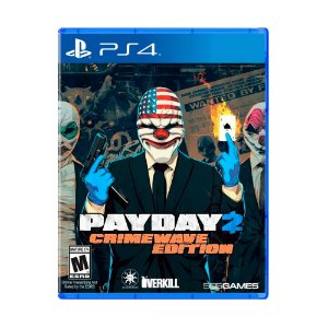 Jogo Jogo Payday 2: Crimewave Edition (Capa Reimpressa) - PS4