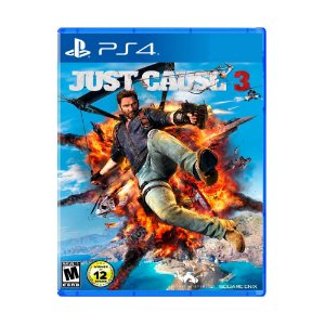 Jogo Just Cause 3 (Capa Reimpressa) - PS4