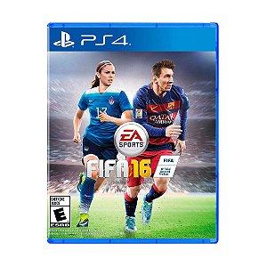 Jogo FIFA 16 (Capa Reimpressa) - PS4