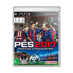 Jogo Pro Evolution Soccer 2017 (Capa Reimpressa) - PS3