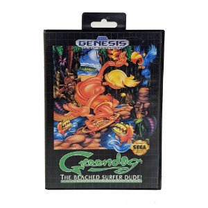 Jogo Greendog: The Beached Surfer - Mega Drive