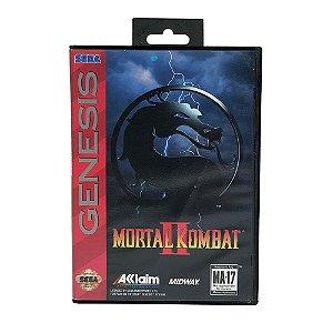 Jogo Mortal Kombat 2 - Mega Drive