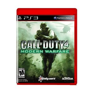 Jogo Call of Duty 4 Modern Warfare (Greatest Hits) - PS3