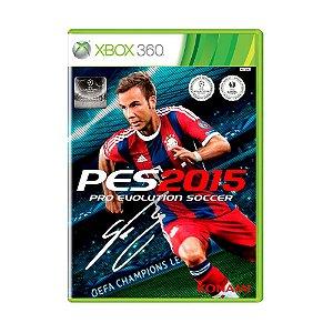 Jogo Pro Evolution Soccer 2015 - Xbox 360