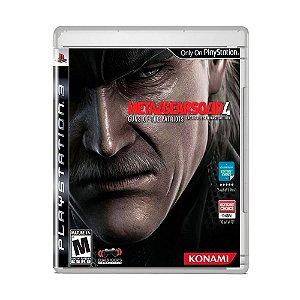 Jogo Metal Gear Solid 4: Guns of the Patriots - PS3