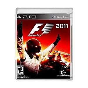 Jogo F1 2011 - PS3