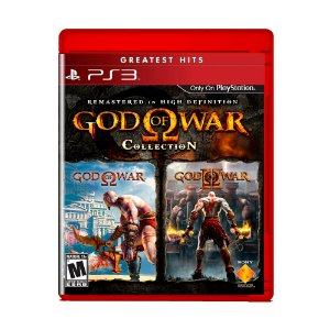 Jogo God of War Collection (Greatest Hits) - PS3