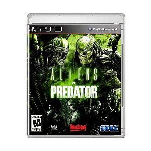 Jogo Aliens vs Predator - PS3
