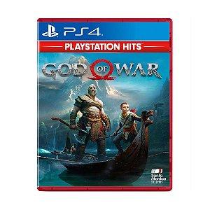 Jogo God of War (Playstation Hits) - PS4