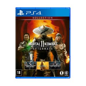 Jogo Mortal Kombat 11 Aftermach Kollection - PS4