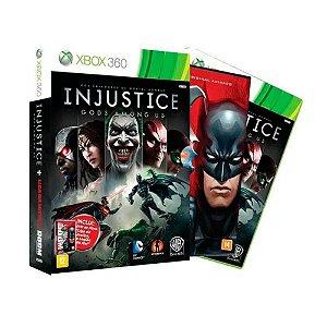 Jogo Injustice Gods Among Us + Liga da Justiça - Xbox 360