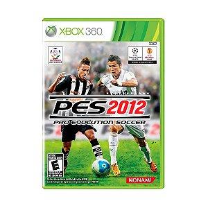Jogo Pro Evolution Soccer 2012 - Xbox 360