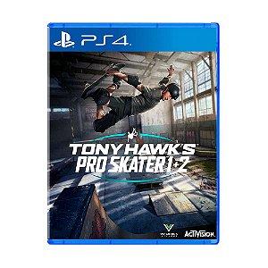 Jogo Tony Hawk's Pro Skater 1 + 2 - PS4
