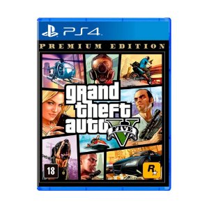 Jogo Grand Theft Auto V (Premium Edition) - PS4