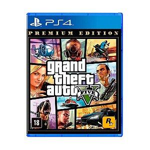 Jogo Grand Theft Auto V (Premium Edition) - PS4