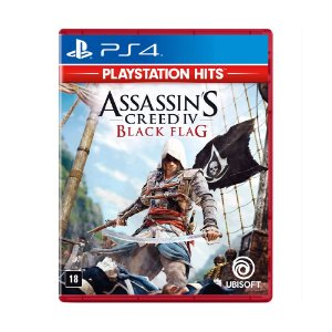 Jogo Assassins Creed IV 4: Black Flag - PS4