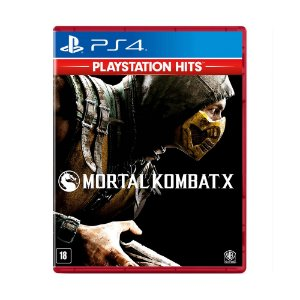 Jogo Mortal Kombat X (Playstation Hits) - PS4