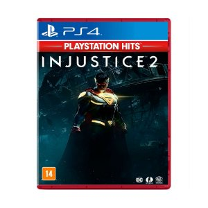 Jogo Injustice 2 (Playstation Hits) - PS4