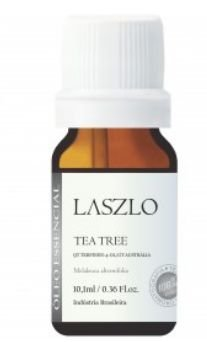 ÓLEO ESSENCIAL DE TEA TREE (QT TERPINEN-4-OL) GT AUSTRÁLIA 10,1ML