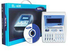 Eletroestimulador NOVO EL-608 NKL C/ bateria recarregável