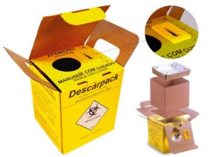 Coletor para Material Perfurocortante 3,0 litros