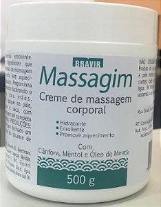 Creme De Massagem Corporal 500gr
