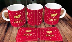 Caneca Ano Novo Chinês