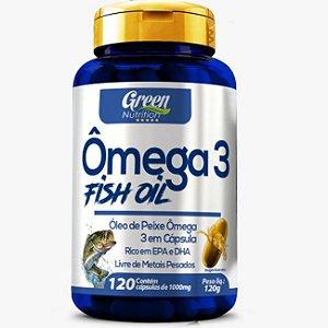 Ômega 3 Fish Oil EPA/DHA 1g 120 Cápsulas