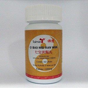 QI BAO MEI RAN WAN 七宝美髯丸 (mediante prescrição terapeutica)