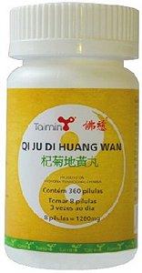 QI JU DI HUANG WAN 杞菊地黄丸 (mediante prescrição terapeutica)
