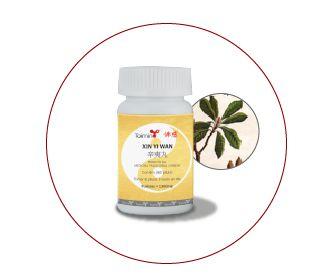 XIN YI WAN 辛夷丸 (mediante prescrição terapeutica)