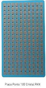 Placa Ponto Cristal C/180 Micropore PAN