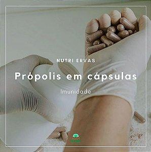 Propolis em cápsulas 500mg 60cps - Produto manipulado