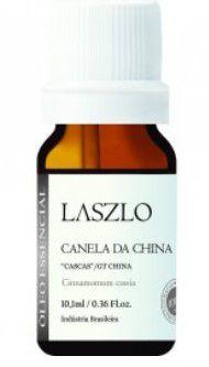 """ÓLEO ESSENCIAL DE CANELA DA CHINA """"CASCAS"""" 10,1ML - LASZLO"""