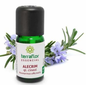 OLEO ESSENCIAL ALECRIM CINEOL 10ML - TERRA FLOR