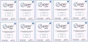 Stiper Pads - Pastilhas Stiper Adesivadas - 10 cartelas