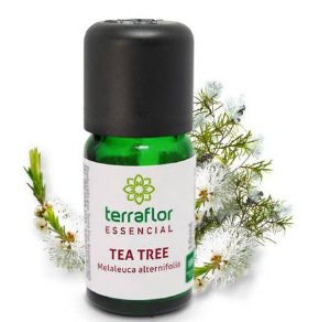 ÓLEO ESSENCIAL TEA TREE 10ML TERRA FLOR