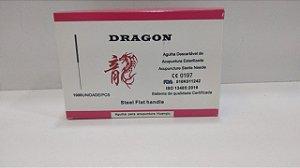 AGULHA PARA ACUPUNTURA DRAGON 0,25x30 caixa c/1000