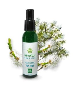Água Floral Tea Tree 120 ML - Terra Flor