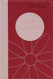 A Bíblia da garota de fé - NTLH (rosa)