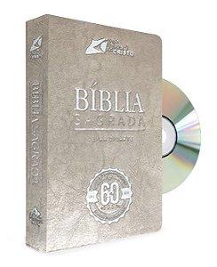 Bíblia Comemorativa com DVD Histórico da festa dos 60 anos (bege)
