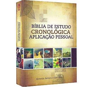 Bíblia de Estudo Cronóligica - Aplicação Pessoal