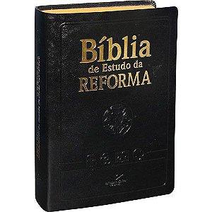 Bíblia de Estudo da Reforma (Preta)