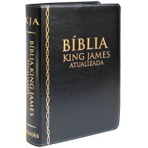 Bíblia de Estudo King James Atualizada (Preta)
