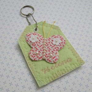 Lembrancinha Chaveiro Butterfly Personalizado