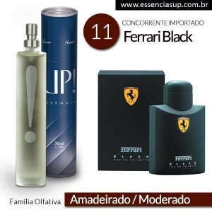 Perfume Masculino UP! Vêneto 11 - FERRARI BLACK 50ml