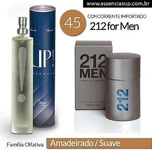 Perfume Masculino UP! New York 45 - 212 Men 50ml