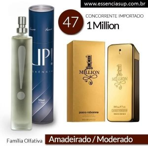 Perfume Masculino UP! Trento 47 - ONE MILLION 50ml