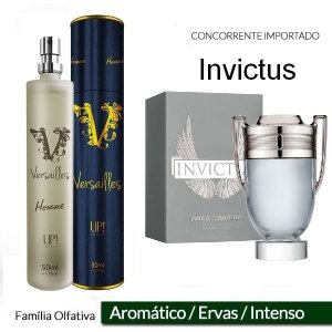 Perfume Masculino UP! VERSAILLES - INVICTUS 50ml