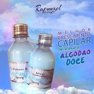Shampoo Rapunzel Strong Algodão Doce